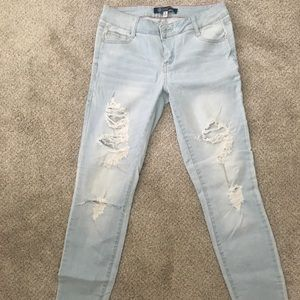 Distressed BoomBoom Skinny Jeans